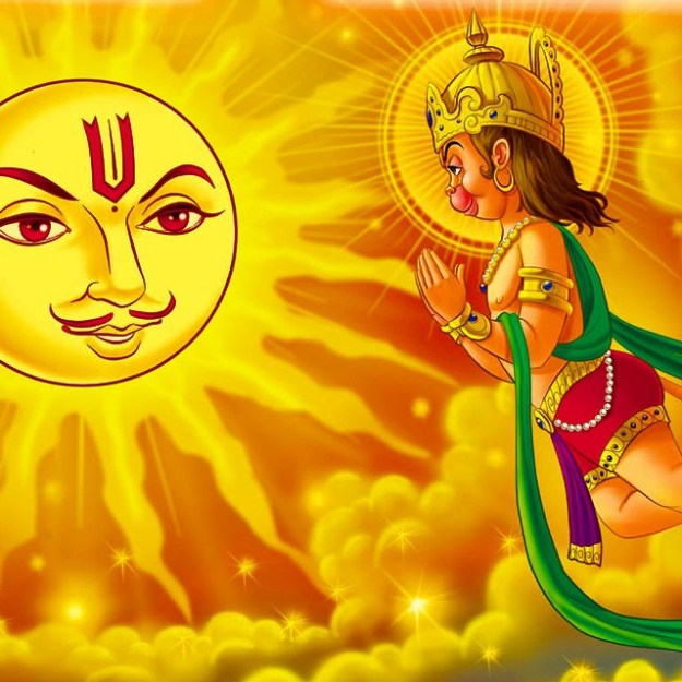 Hanuman namaskar mantra lyrics in hindi with meaning